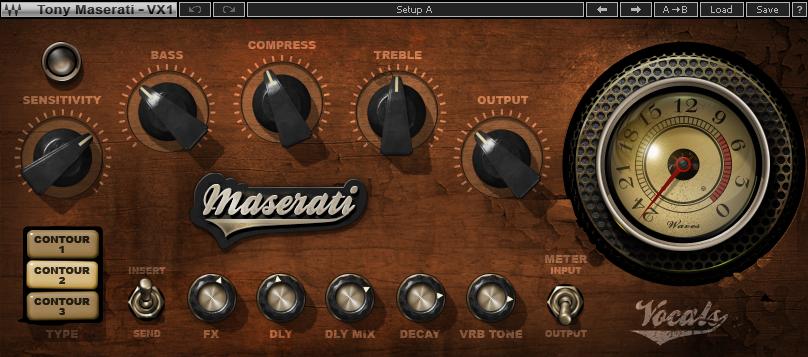 Waves MaseratiVX の画像
