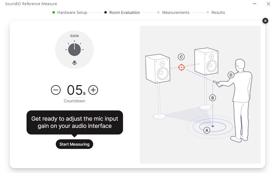 SoundID Reference測定時の画像