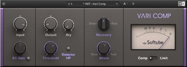 Native Instruments Vari Comp画像